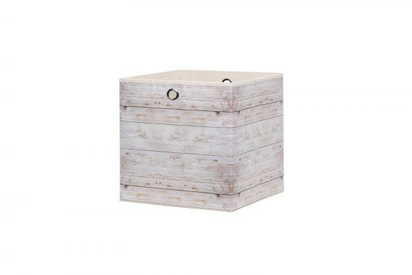 Faltbox Box City WOOD 2 - 32 x 32 cm - 3er Set