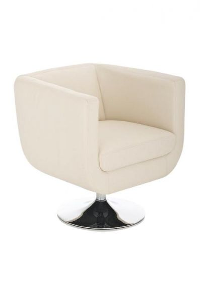 Sessel Coctailsessel Lounger - Colo - in trend Design in Creme