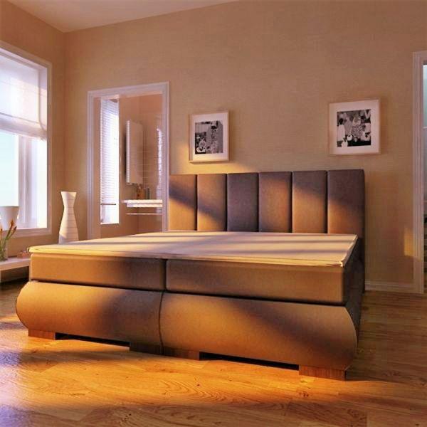 Boxspringbett Schlafzimmerbett ANCONA 160x200 cm