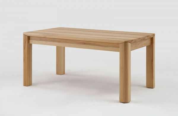 esstisch tisch mit gestellauszug oland 160 240 x 90 cm eiche massiv