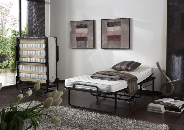 Raumsparbett Gästebett - Sleepers 2 - Komplettset Schwarz 90 x 200 cm