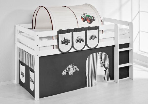 Tunnel Trecker Braun - für Hochbett, Spielbett und Etagenbett