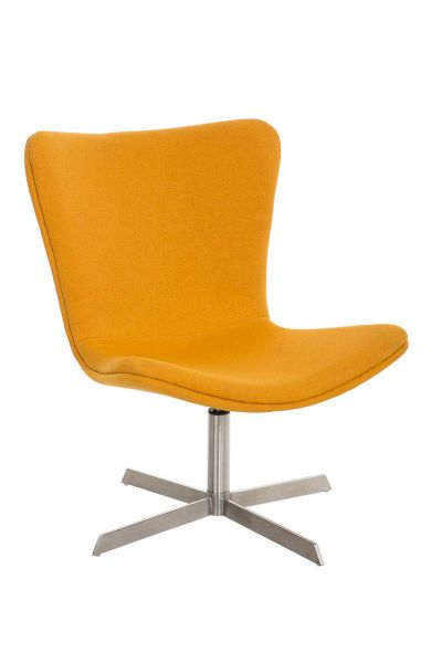 Sessel Coctailsessel Lounger - Andreas - in modernem Design in Gelb
