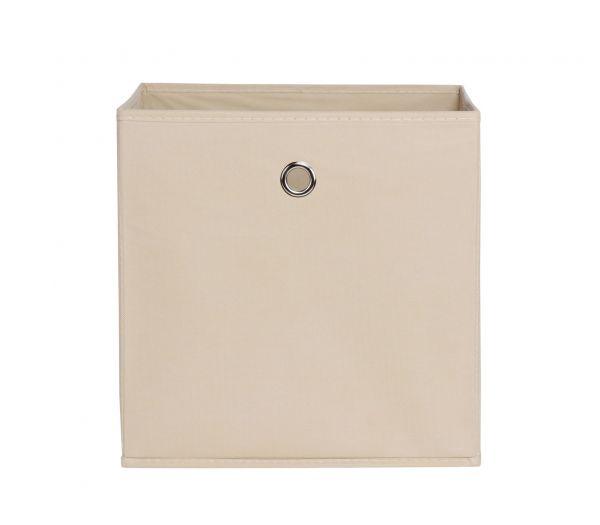 Faltbox Box Stoffbox- Delta - Größe: 32 x 32 cm - Beige