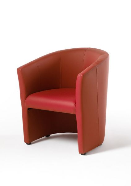 Cocktailsessel Clubsessel Loungesessel Bürosessel - Salyn - Rot