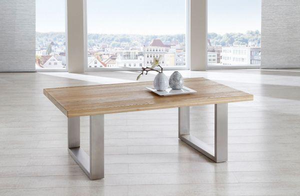 Couchtisch Tisch KENO Eiche vollmassiv geölt 110 x 70 cm