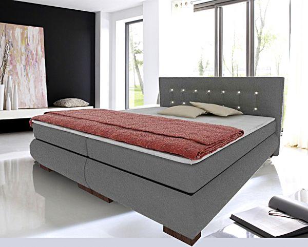 Boxspringbett Schlafzimmerbett FLORENZ 200x200 cm