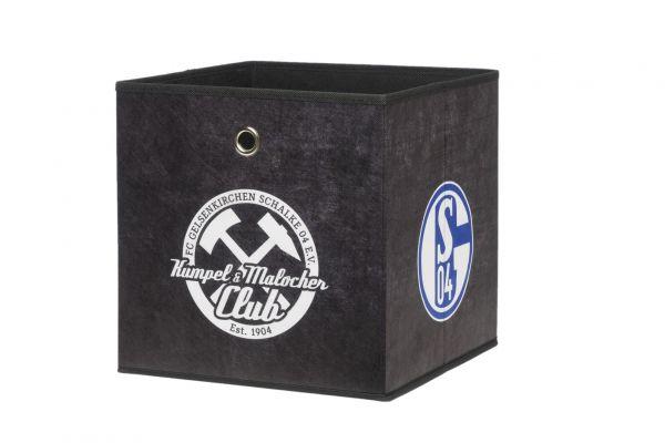 Faltbox Box - FC Schalke / Nr.3 - 32 x 32 cm / 3er Set