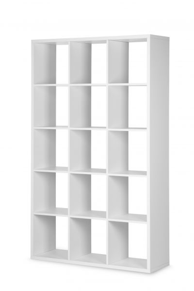 Regal Bücherregal - Domino- / 107 x 176 cm - Weiss