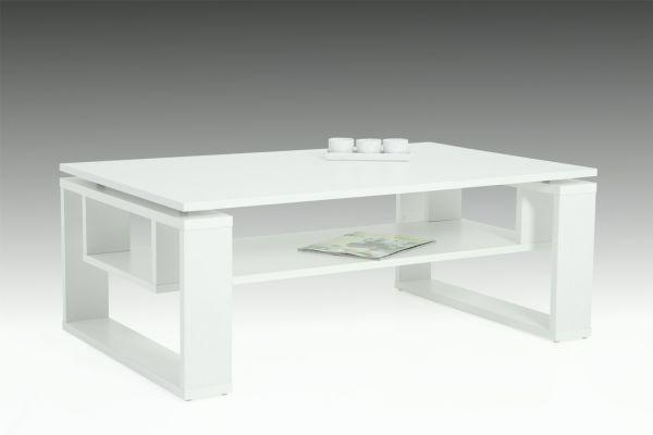 """Couchtisch Beistelltisch Wohnzimmertisch """"Tony"""" 110x70 cm Weiss"""