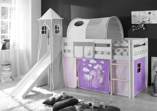 Vorhang Etagenbett Kinder : Vorhang tlg horse lila beige für spielbett hochbett etagenbett