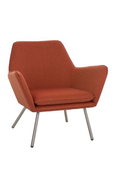 Sessel Coctailsessel Lounger - Adele - in trend Design in Orange