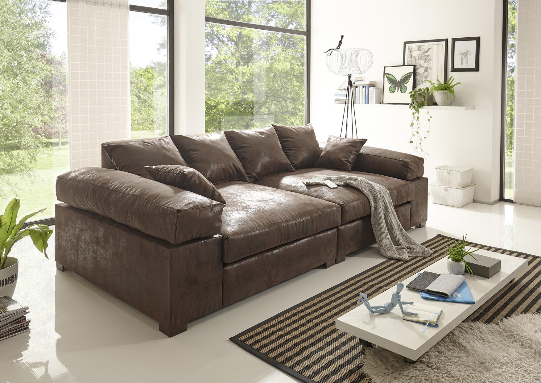 big sofa couchgarnitur megasofa riesensofa arezzo. Black Bedroom Furniture Sets. Home Design Ideas