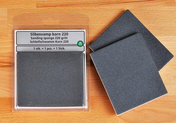 Schleifschwamm Guardian zweiseitig beschichtet / Korn 220