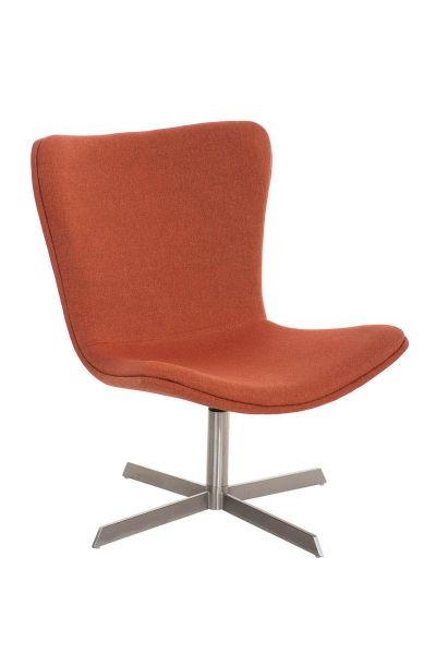 Sessel Coctailsessel Lounger - Andreas - in modernem Design in Orange
