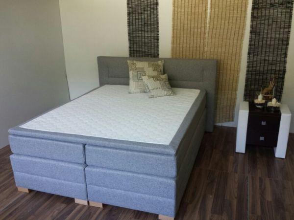 Boxspringbett Schlafzimmerbett PESARO 200x200 cm