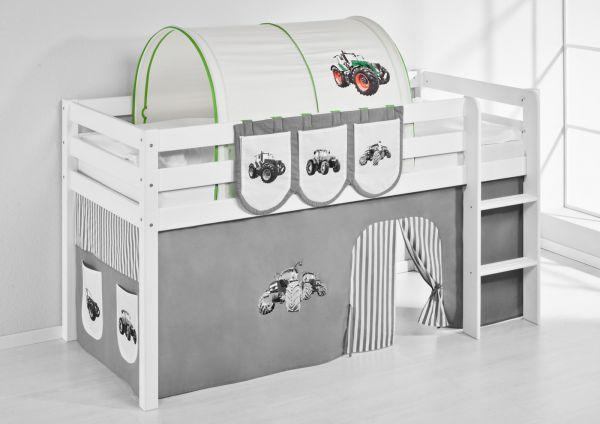 Tunnel Trecker Grün - für Hochbett, Spielbett und Etagenbett