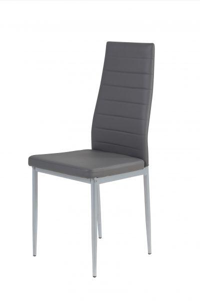 Esszimmerstühle Stühle Vierfußstuhl 4er Set SARIN Grau
