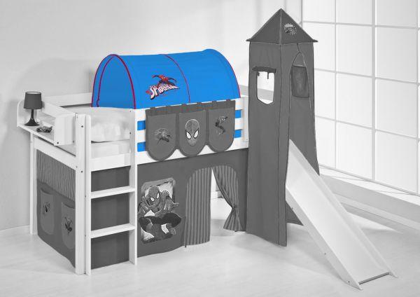 Tunnel Set Etagenbett : Tunnel spiderman für hochbett spielbett und etagenbett fun möbel