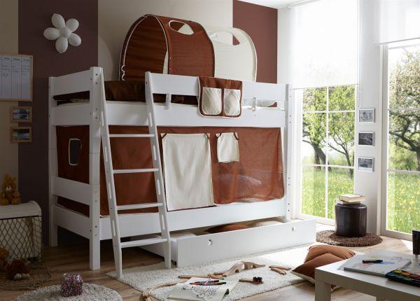 Etagenbett Buche Massiv Weiss : Amazon etagenbett doppelbett stockbett maxim teilbar buche