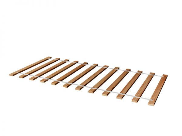 Rollrost Lattenrost Rolllattenrost 120 x 200 cm / 200 Stk Massivholz