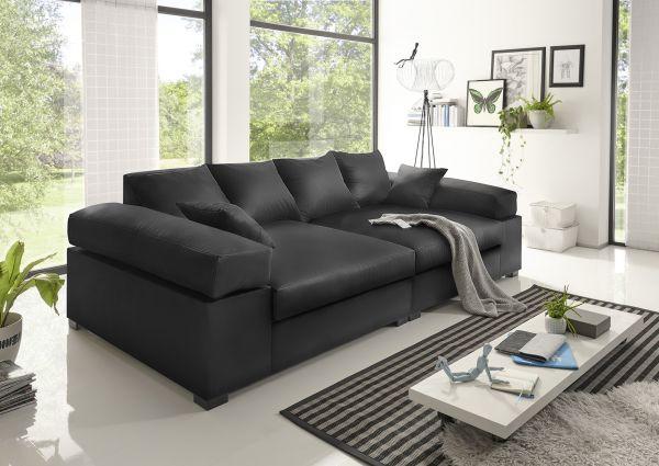 Big Sofa Couchgarnitur Megasofa Riesensofa Arezzo Kunstleder