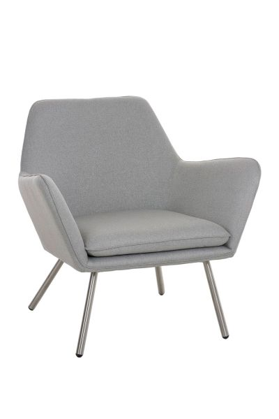 Sessel Coctailsessel Lounger - Adele - in trend Design in Hellgrau
