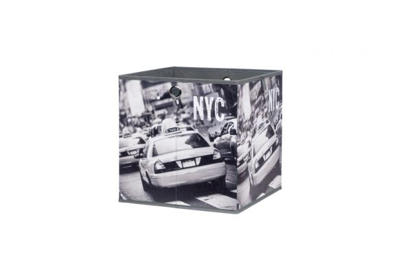 Faltbox Box City - NY -32 x 32 cm / 3er Set - City Look