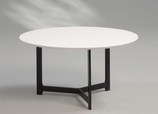Couchtisch Beistelltisch - Vito - 80x80 cm Hochglanz Weiss