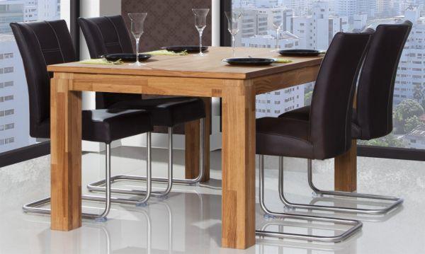 Esstisch Tisch Maison Buche Massiv 80x80 Cm Länge 80 Cm Buche
