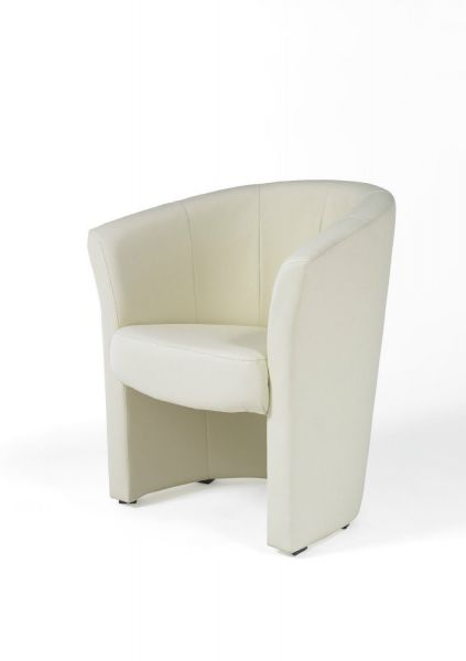 Cocktailsessel Clubsessel Loungesessel Bürosessel - Salyn - Creme