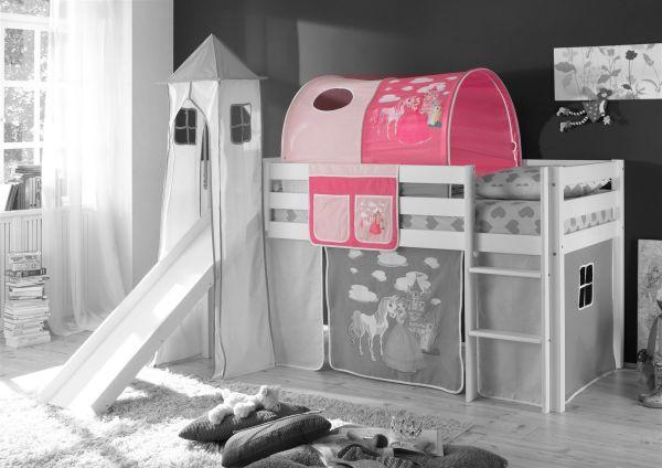 Etagenbett Tunnel : Tunnel prinzessin pink für spielbett hochbett etagenbett tasche