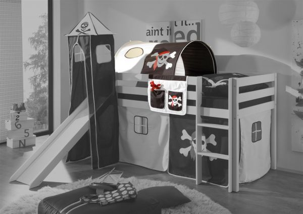 Etagenbett Tunnel : Tunnel pirat schwarz für spielbett hochbett etagenbett tasche