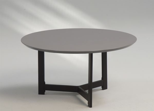 Couchtisch Beistelltisch - Vito - 70x70 cm Hochglanz Anthrazit