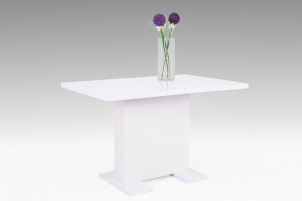 Esstisch Säulentisch - Silvi - 120 x 75 cm in Weiss