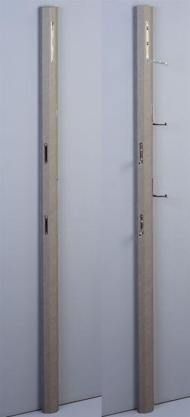 Garderobe DIEGO Betonoptik 8x185x4 cm