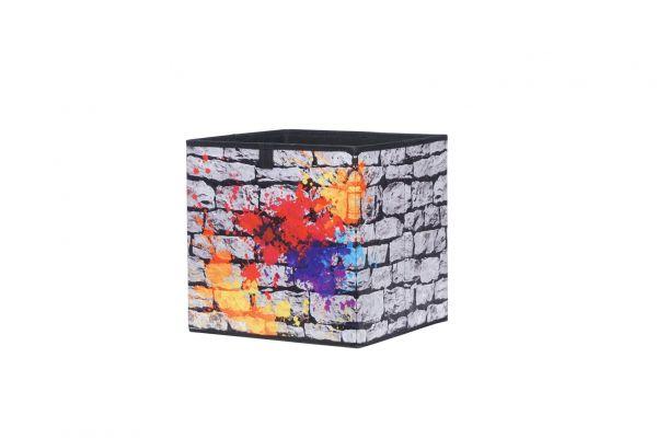 Faltbox Box - Delta -32 x 32 cm - Graffiti