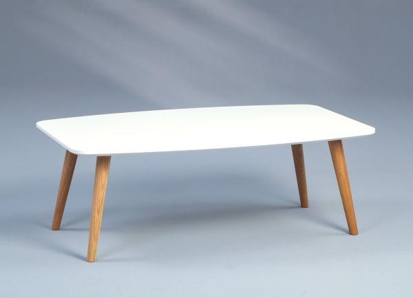 Couchtische Beistelltisch - Martin -Wildeiche Massiv 100 x 60 cm