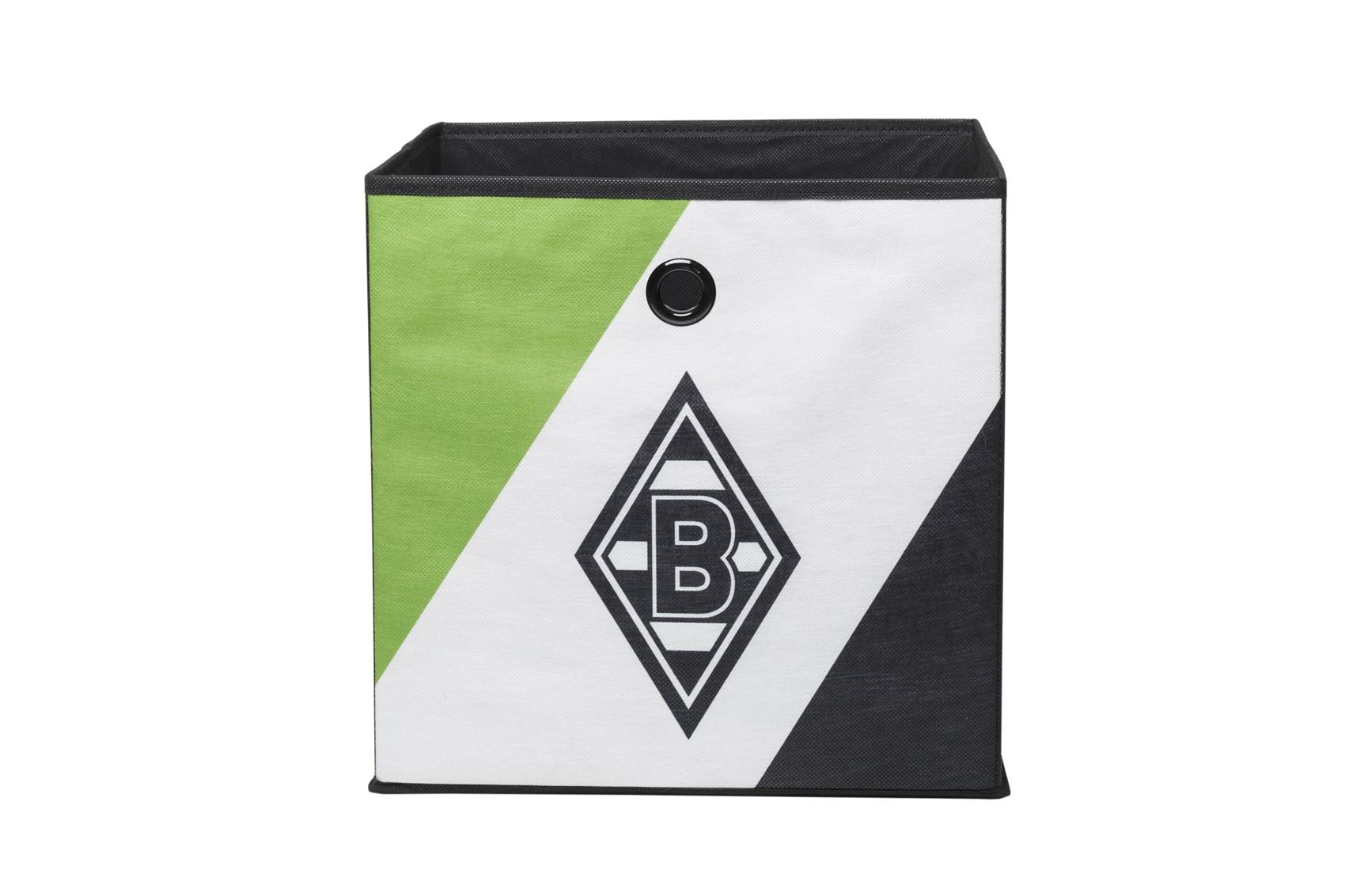 Borussia Mönchengladbach Nr.2-32 x 32 cm 3er Set Faltbox Box