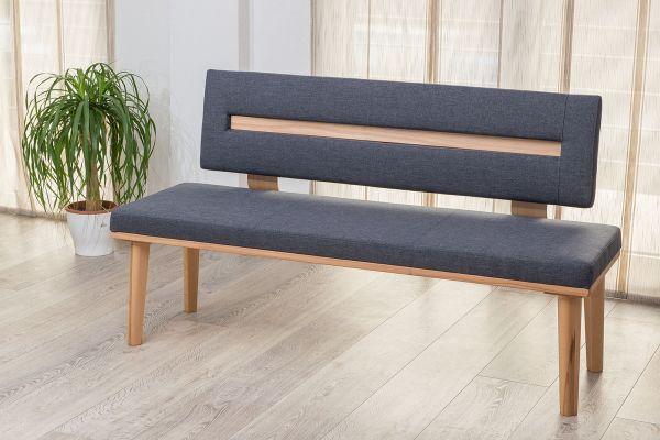 sitzbank lounge kernbuche bank massiv 160x45 cm fun m bel. Black Bedroom Furniture Sets. Home Design Ideas