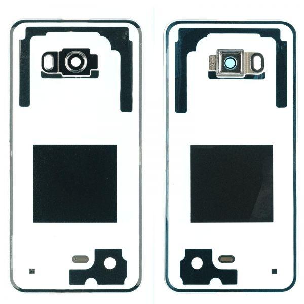 HTC U11 Back Cover inkl. Kleber + Kameralinse Glas, transparent
