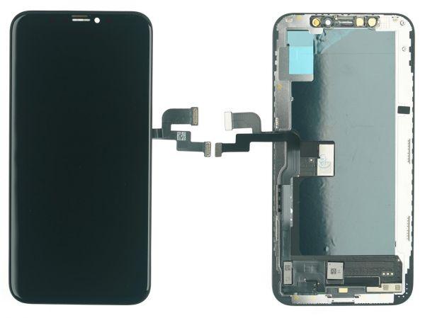 OEM iPhone XS Hard OLED Display Modul, schwarz
