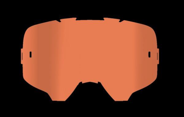 Linse orange 51% Lichtdurchlässigkeit