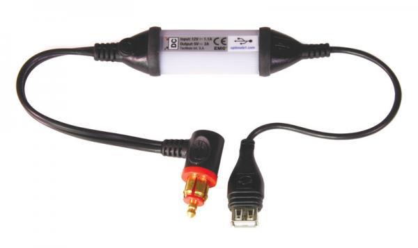 USB-Ladekabel mit DIN-Ladekabel