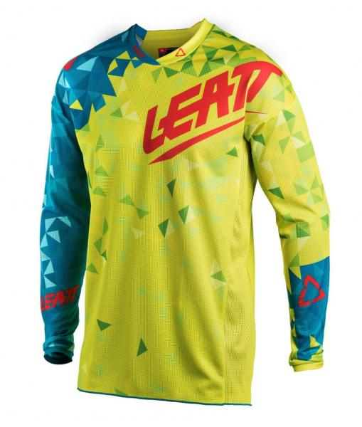 MX Shirt GPX 2.5 Junior lime-teal S