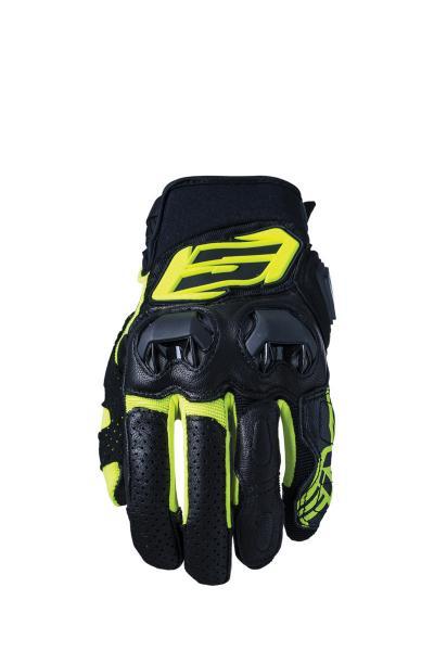 Handschuhe SF3 schwarz-gelb fluo