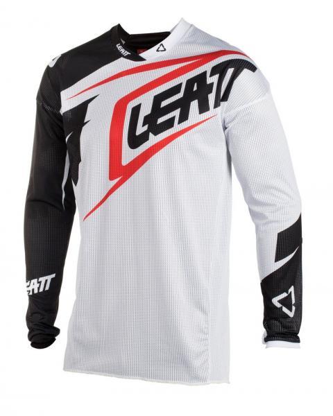 MX Shirt GPX 2.5 Junior weiss-schwarz L
