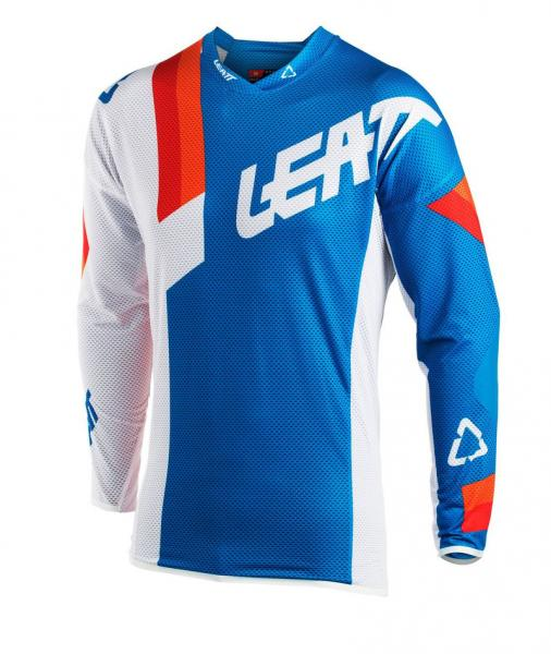 MX Shirt GPX 3.5 Junior blau-weiss L
