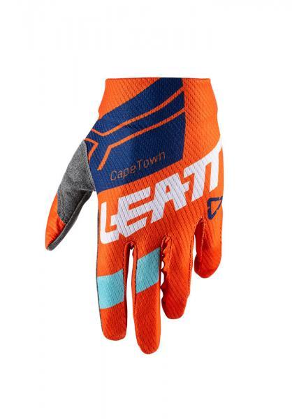 Handschuhe GPX 1.5 GripR Junior/Mini orange-blau-weiss