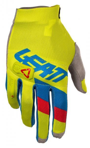 Handschuhe GPX 3.5 Lite lime-blau
